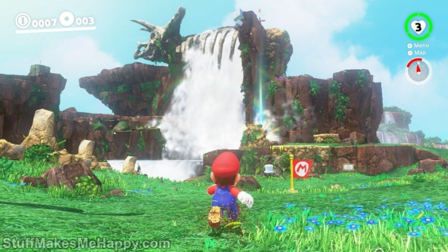 1. Super Mario Bros (1985) and Super Mario Odyssey  (2017)