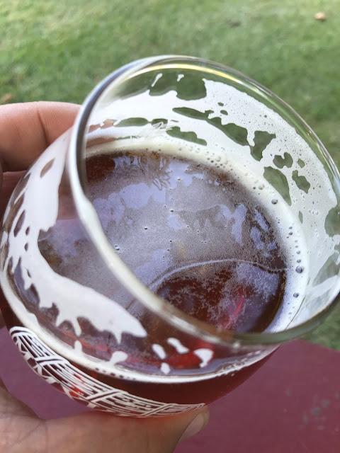 New Belgium Oakspire Bourbon Barrel Ale 4