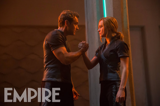 Captain Marvel still with Brie and Jude from Empire