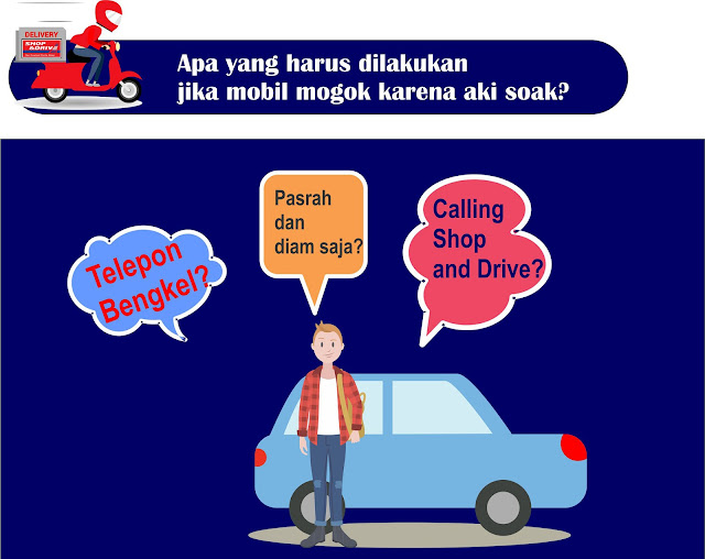 Beli aki di Shop and Drive lebih murah