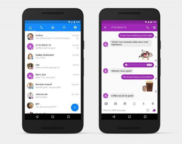 الآن مسنجر فيس بوك يدعم الرسائل القصيرة SMS