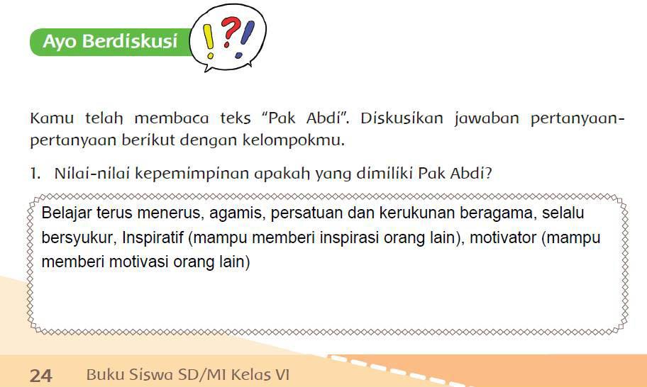 Subtema 1 Pembelajaran 3 Hal 24 29 Kls 6 Tema 7