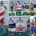 Seleção Baiana de atletimos sub 16 com atletas da EAF conquista 6 medalha em Maceió