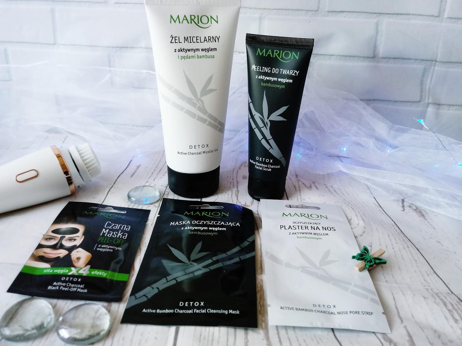 DETOKS z pędami bambusa i czarnym węglem / MARION / recenzja