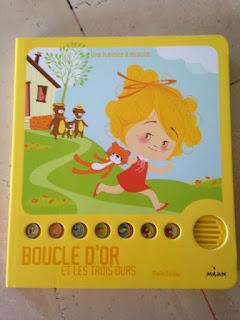 Boucle d'Or et les trois ours - une histoire à écouter - Editions MILAN