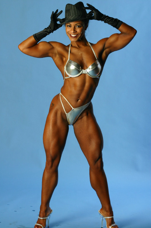 Sexy Black Female Bodybuilders 29
