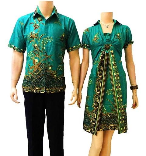 Trend Batik Kerja 2014: Trend Model Batik Couple Terbaru 2014
