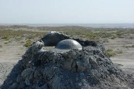 Os vulcões de lama do Azerbaijão – Azerbaijão