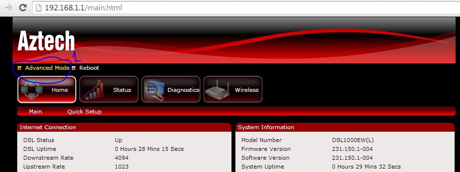 aztech 700wr firmware