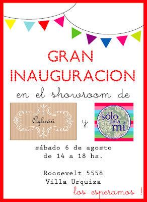 Inauguración Showroom