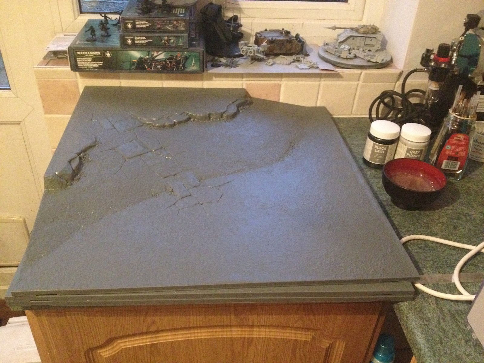 Send The Eighth! Wargaming Blog: Terrain: Gaming Table #1