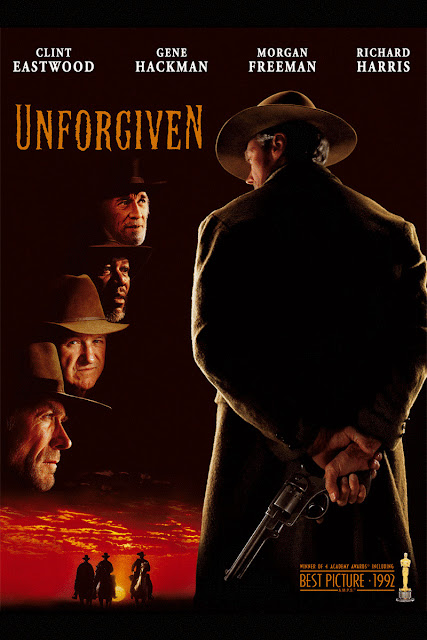 unforgiven, western, directed by clint eastwood, 1992