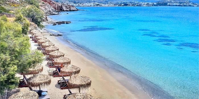 Le spiagge più belle di Parikia, Paros