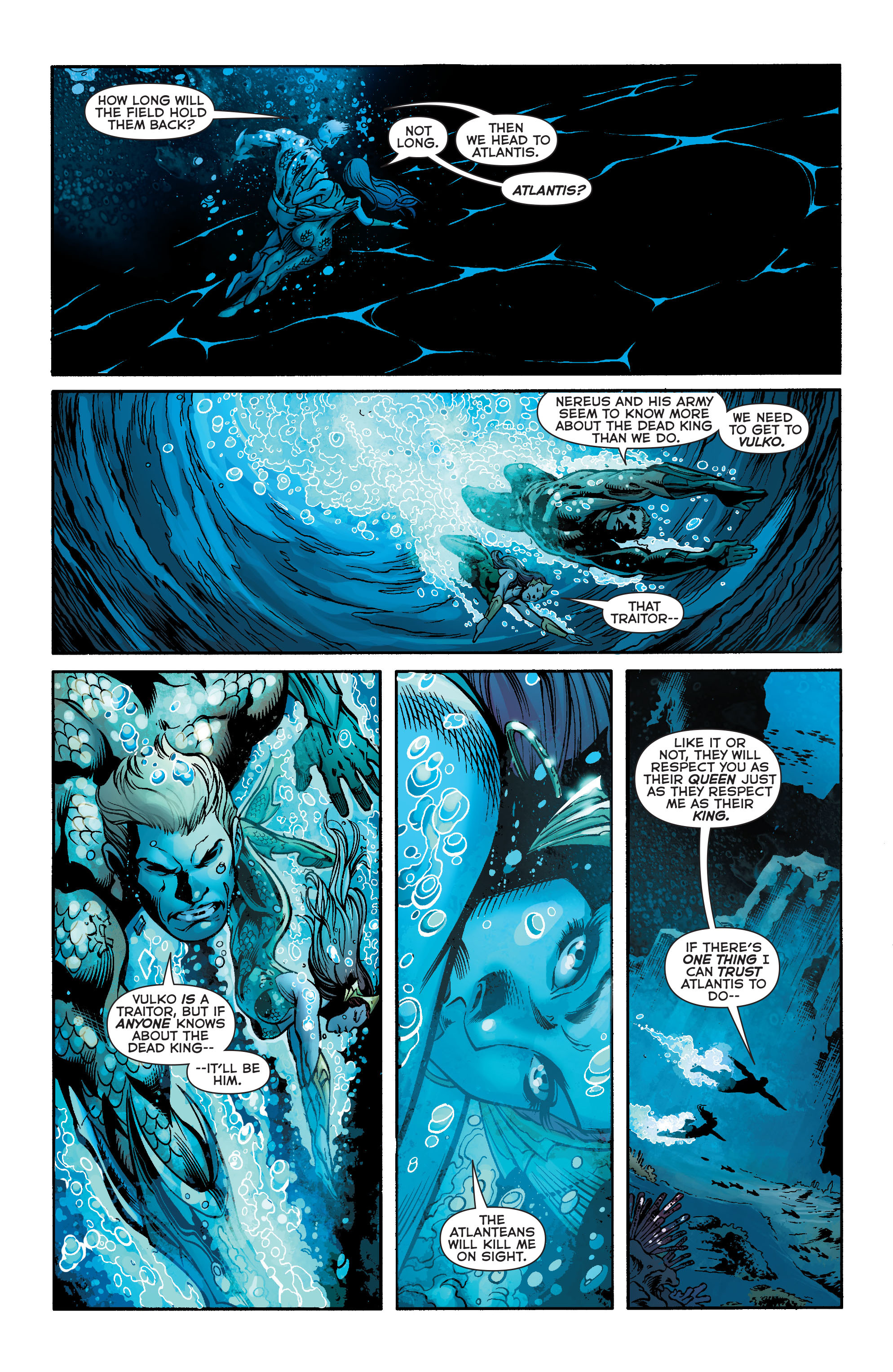 Read online Aquaman (2011) comic -  Issue #23 - 7