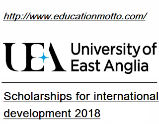 UK University of East Anglia Scholarships For International Development 2018