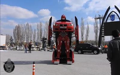 Insinyur Turki Berhasil Membuat Transformer Nyata