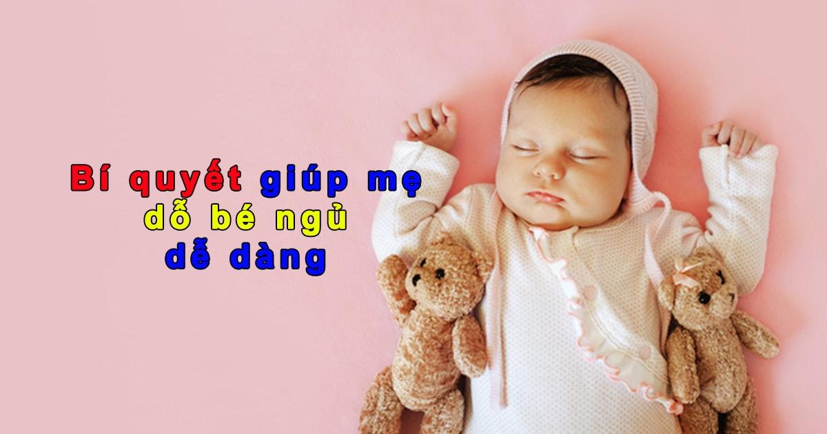 Cách giúp trẻ sơ sinh ngủ sâu giấc - và một số lưu ý khi cho bé ngủ