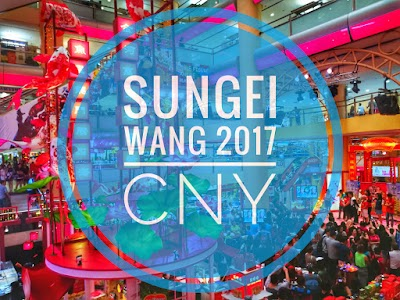 Swimming in Abundance and Prosperity at Sungei Wang Plaza for Celebrating CNY 2017