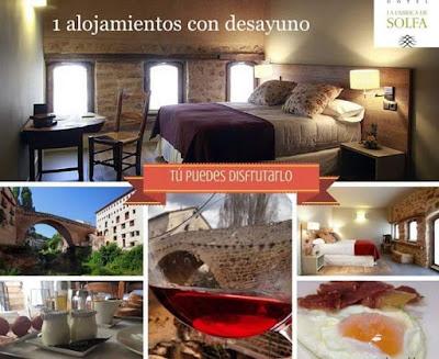 Javi Moragrega, Fábrica de Solfa, #Quinsolfa, gran defensor del chapurriau , y sus hermanos Alberto y Rubén, ofrecen 1 alojamiento con desayuno en el hotel