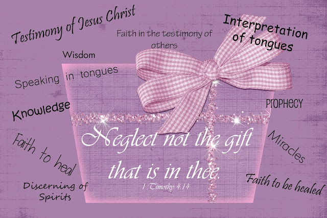 Image result for lds gifts of the spirit
