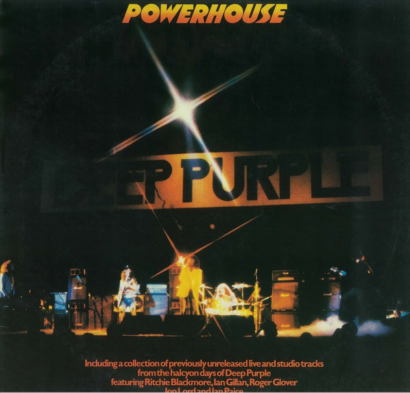Rock On Vinyl: Deep Purple - Powerhouse (1977)
