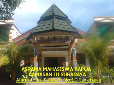 Pemakaian Air Bersi di Asrama Mahasiswa Papua Surabaya Dianggap Ilegal, PDAM Putuskan Aliran Air