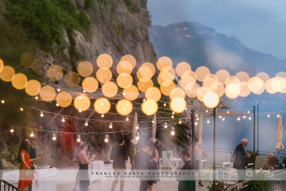 Wedding reception at hotel Santa Caterina