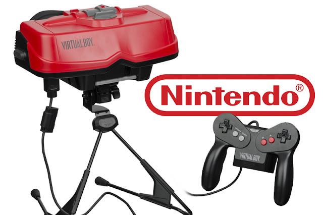Virtual Box, console de realidade virtual da Nintendo