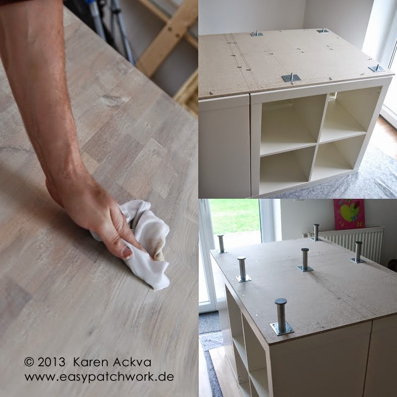 Letu0027s Get Started: We Started By Putting The Shelves Together Per Ikea  Instructions. (My Husband Has Become THE Ikea Furniture Builder The Last  Couple Of ...