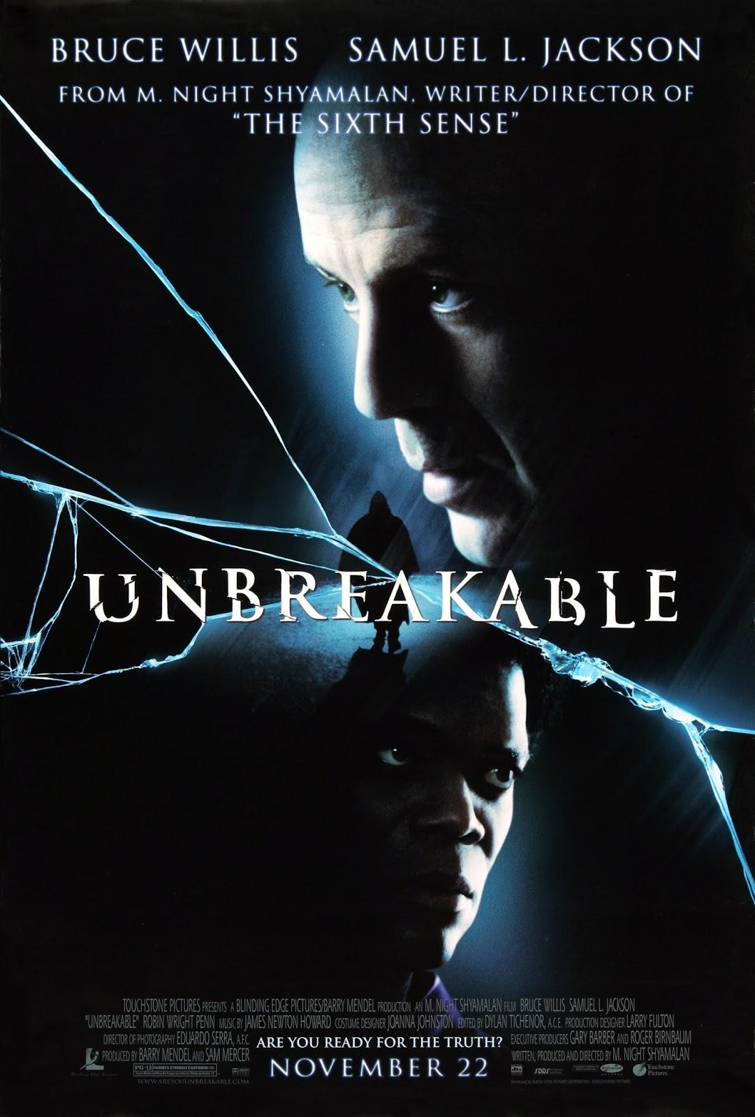 Unbreakable (2000) tainies online oipeirates