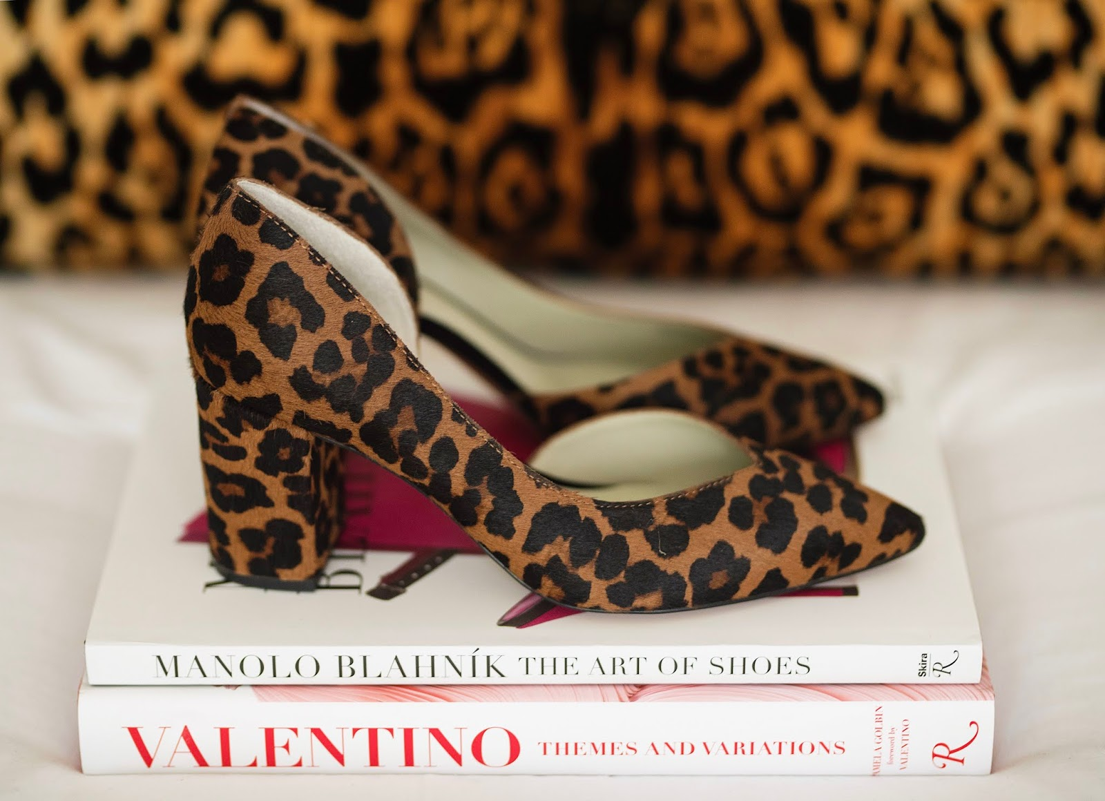 Nordstrom Anniversary Sale 1.STATE Sisteen Half d'Orsay Leopard Pumps - Something Delightful Blog
