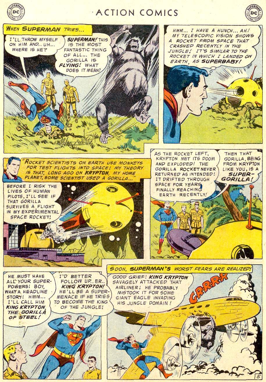 Read online Action Comics (1938) comic -  Issue #238 - 7