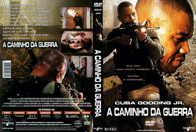 Capa DVD A Caminho da Guerra