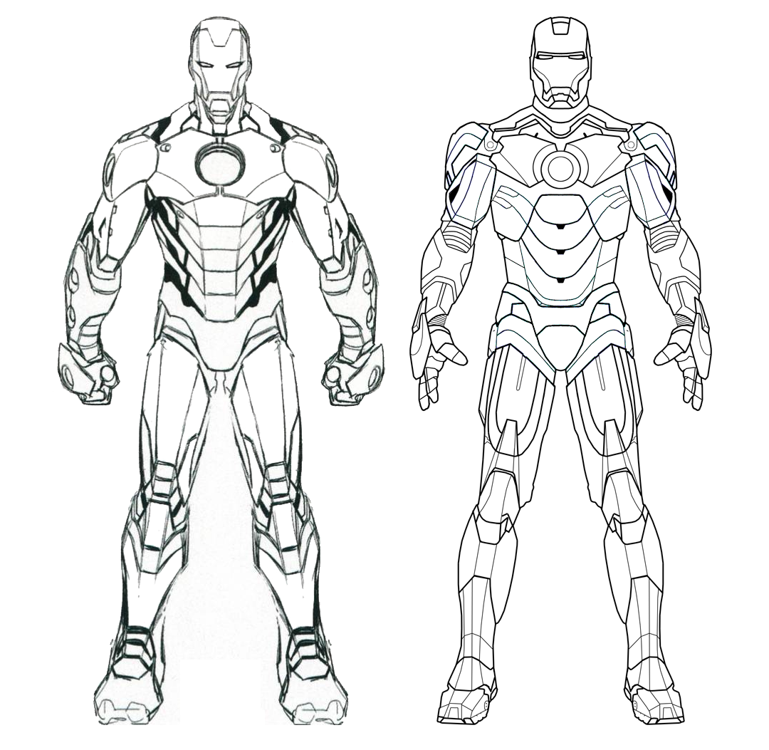 Iron Man Mark 1 Schematics