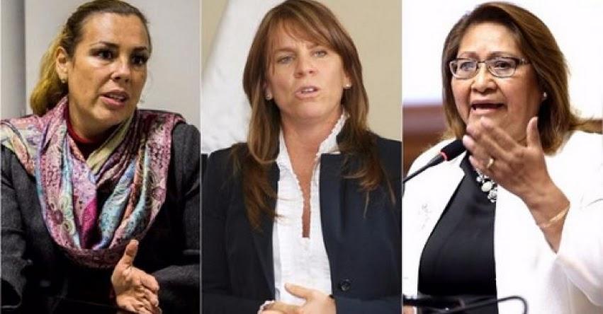 Molinelli, Aljovín y Choquehuanca juramentaron como nuevas ministras de estado