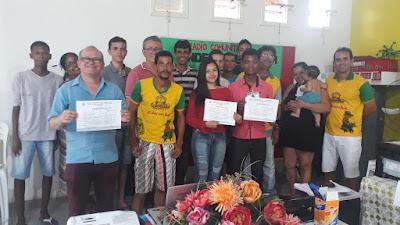 Comunicadores da rádio Mairi FM participaram de curso de formação na cidade de Ichu-Ba