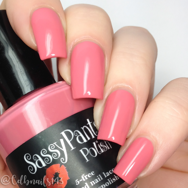 Sassy Pants Polish-French Kiss