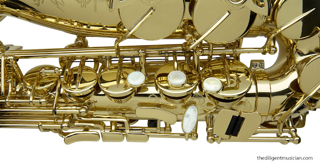 SeleS Axos Alto Saxophone Right Hand stack