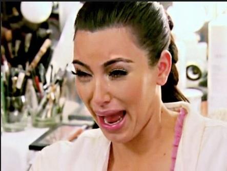Reality cheque kourtney k impression - Kim kardashian crying collage ...