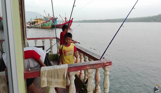 Percutian Memancing Siakap dan Semilang di Amir Chalet, Kg Baru Setiawan