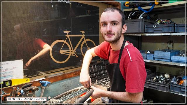 la bicyclette détend et donne sourire et bonne humeur