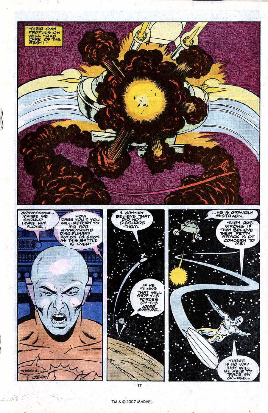 Read online Silver Surfer (1987) comic -  Issue #21 - 19