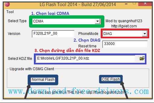 Télécharger LG V10 Stock KDZ firmware flash 100% - download