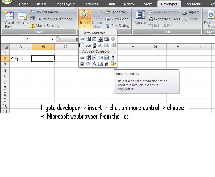 Excel VBA Codes & Macros: Adding Marquee on Excel Worksheet