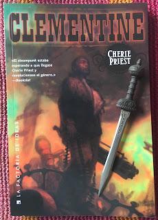 Portada del libro Clementine, de Cherie Priest