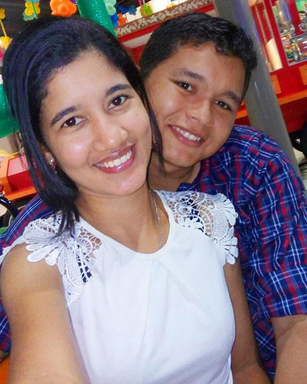 Alan Ribeiro e Lorena Ferreira
