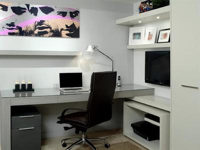 decoração escritório apartamento