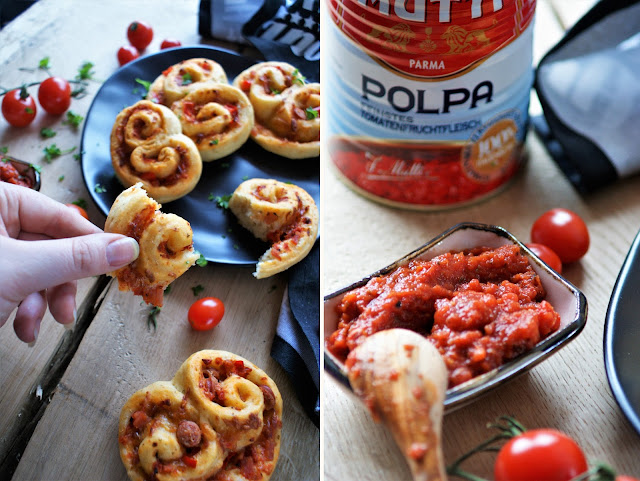 Pizza Brezeln