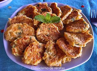 Tortillitas de pan y calabacín
