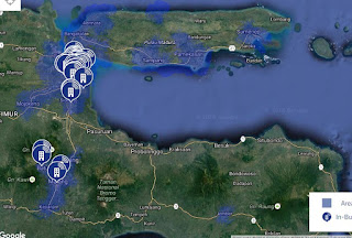 Jaringan 4G LTE AXIS di Jawa Timur